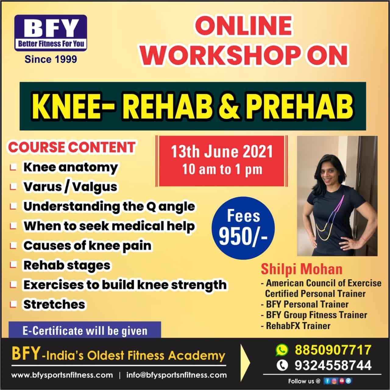 Knee - Rehab and Prehab