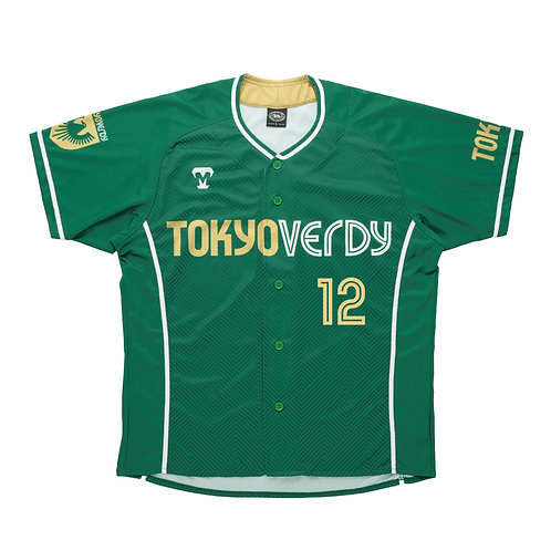 [受注生産]TVB 2021レプリカユニフォームシャツ グリーン(選手選択可)