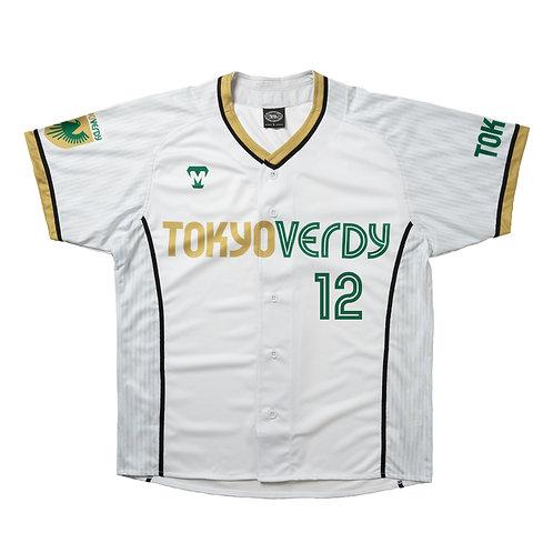 [受注生産]TVB 2021レプリカユニフォームシャツ ホワイト(選手選択可)