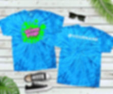 Shirt Mockup Template for insta tie dye.