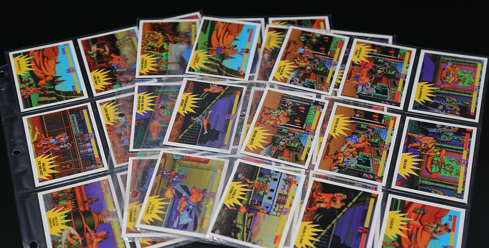 Street Fighter 2 Trading Cards