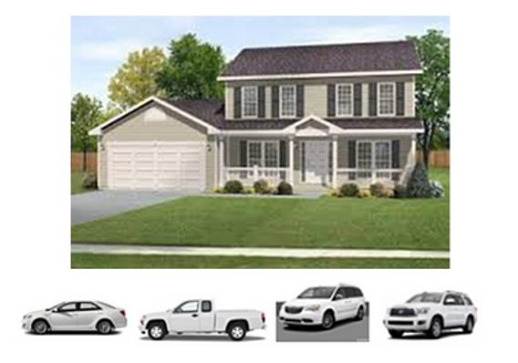 The House & the Car, Truck, Van & SUV
