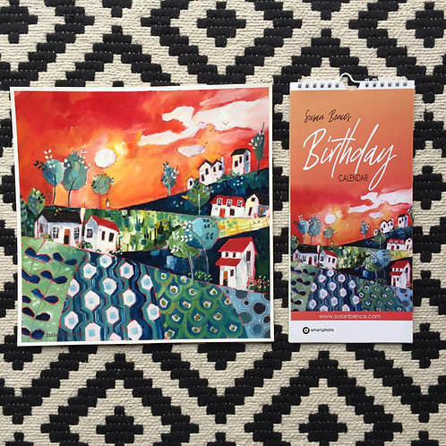 "Birthday Calendar and ""A celebration of patterns"""
