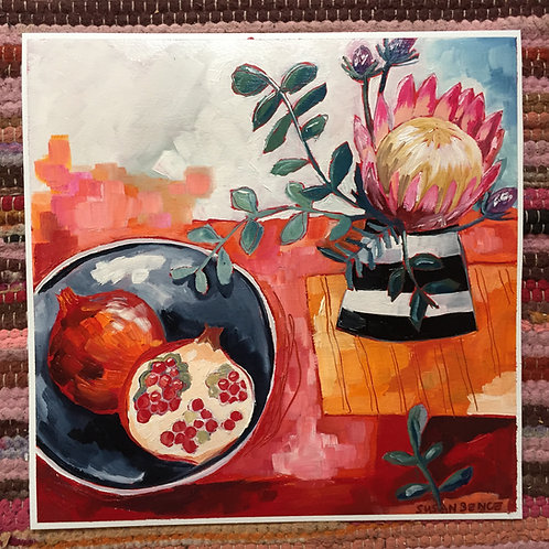 The wonderful everyday: Pomegranate