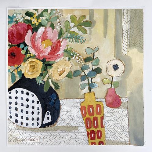 The spotty vase