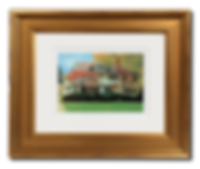 Maple Street Studio Gold Frame