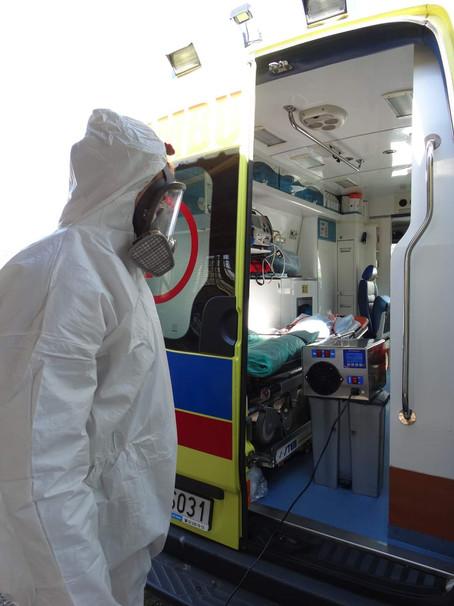 Dezynfekcja transportu skażonego patogenami wirusa SARS-CoV-2!