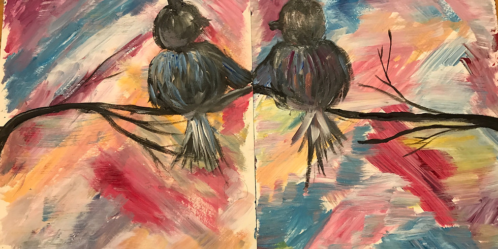 Valentine's Day Paint and Sip in Burien