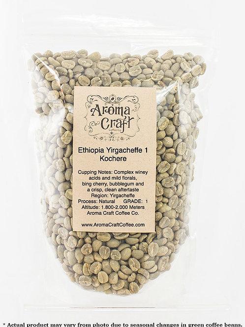 Ethiopia Yirgacheffe Unroasted Green Beans
