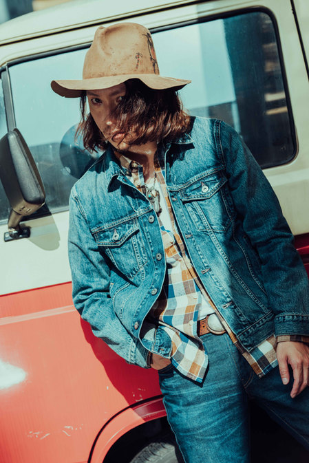 # Levi's for GQ Mag