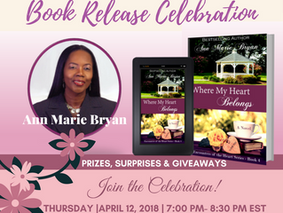 Book Release Celebration - Where My Heart Belongs