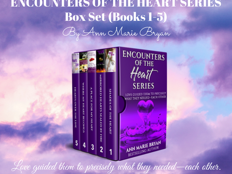 NEW RELEASE: Encounters of the Heart Series Box Set (Books 1-5)