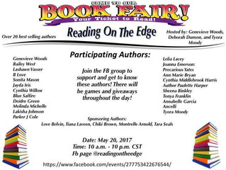 Book Fair - Reading on the Edge