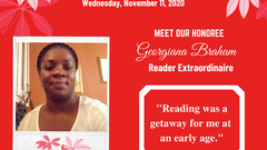 Meet Reader Extraordinaire: Georgiana Braham