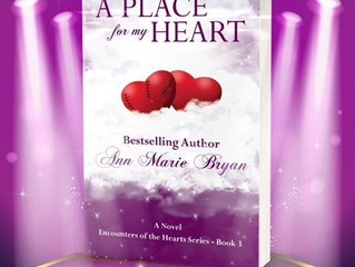 Book Cover Reveal - A Place For My Heart
