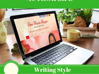 AUTHOR LIFE: Writing Style