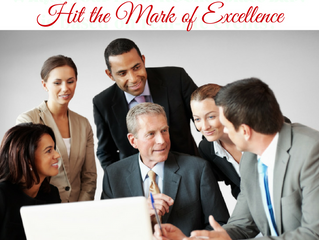 BE INTENTIONAL: Hit the Mark of Excellence