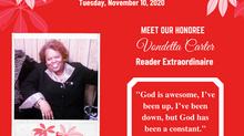 Meet Reader Extraordinaire: Vondetta Carter