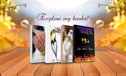 Books by Ann Marie Bryan Christian Fiction Author
