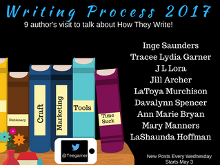 Blog Tour - Writing Process 2017
