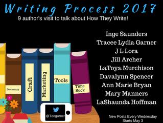Blog Tour - Writing Process 2017