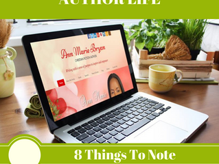 AUTHOR LIFE: 8 Things To Note