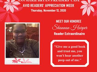Meet Reader Extraordinaire: Shannan Harper