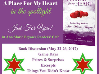 Book Spotlight - A Place For My Heart