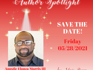 SAVE THE DATE: Author Spotlight with E. Morris III