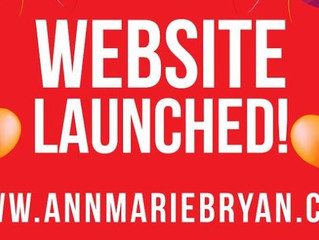 My Author Website Launched: www.annmariebryan.com