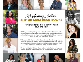 VBD STAR POWER LIST: 25 Amazing Authors & Their Must-Read Books