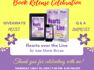 Book Release Celebration - Hearts over the Line