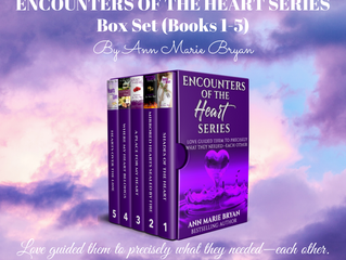 NEW RELEASE - Encounters of the Heart Series Box Set (Books 1-5)
