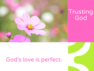God's love is perfect