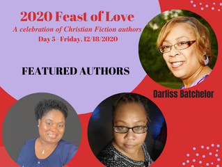 2020 FEAST OF LOVE: Day 5 - Meet the Authors