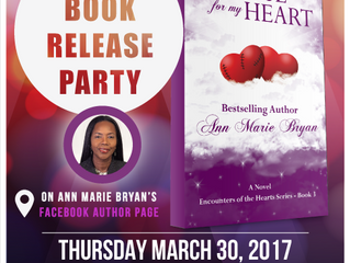 Book Release Celebration - A Place For My Heart