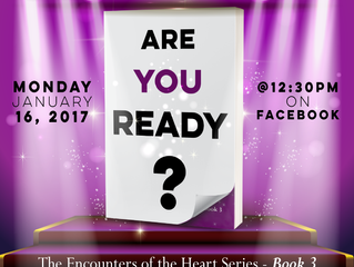 Book Cover Reveal - Book 3 in the Encounters of the Heart series