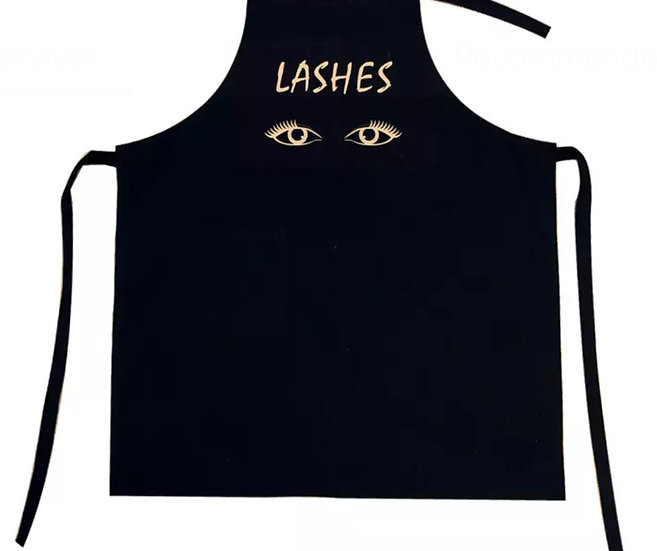 LASH APRON with front pocket