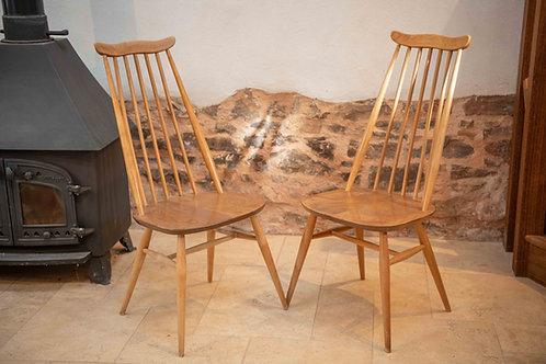 Ercol Windsor (369) Goldsmith Dining Chair, Light Finish
