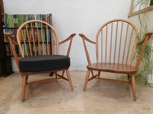 Ercol Windsor (305) Tub Chair, Light Finish