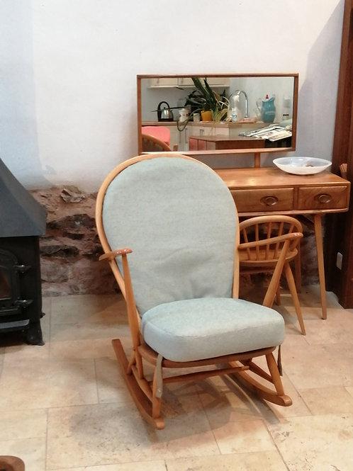 Ercol Windsor (305) Tub Rocking Chair, Light Finish