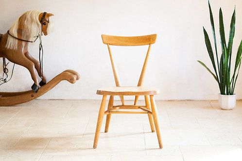 Ercol Windsor (329) Large Children's Stacking Chair, Light Finish