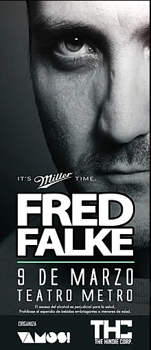 FRED FALKE Live en Bogotá!!