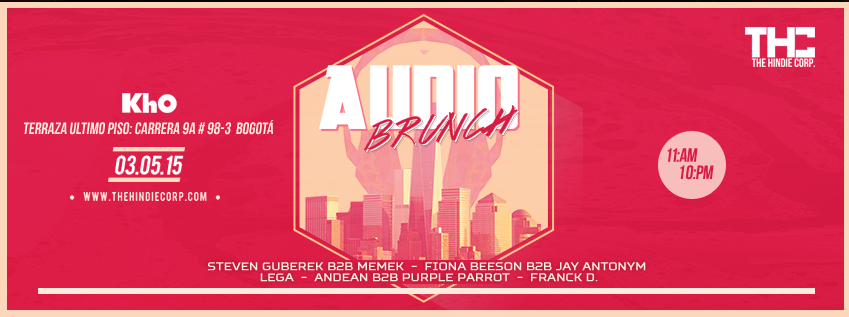AUDIO BRUNCH | Dom. 3 de Mayo