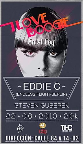 ILOVEBOOGIE en el COQ con EDDIE C