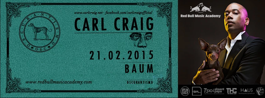 Carl Craig in Bogota!