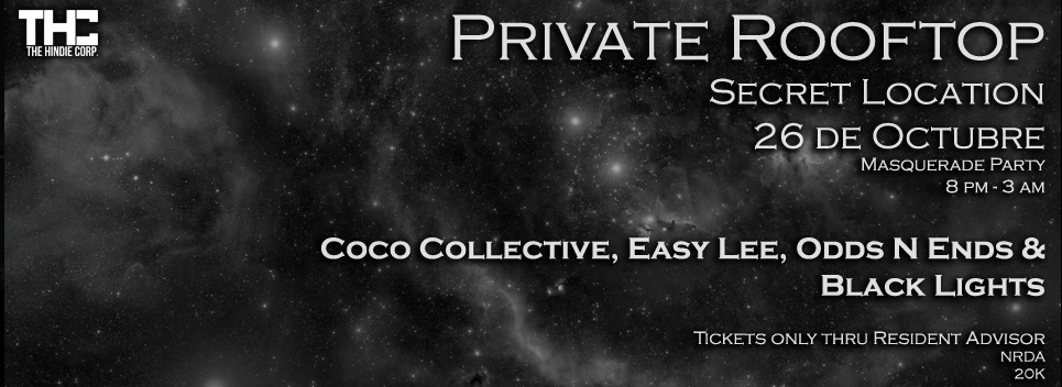 THC presenta: Private Rooftop