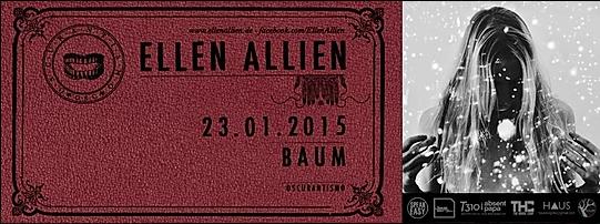 ELLEN ALLIEN | OSCURANTISMO @ BAUM