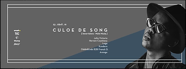 Culoe De Song at Bogota!