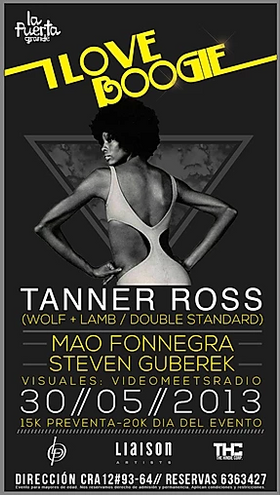 ILOVEBOOGIE: Tanner Ross